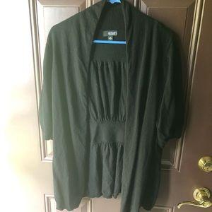 a.n.a black summer cardigan